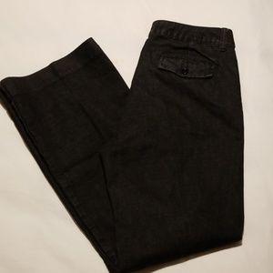 TALBOTS Women's Black Trouser Stretch Jeans, 12/31